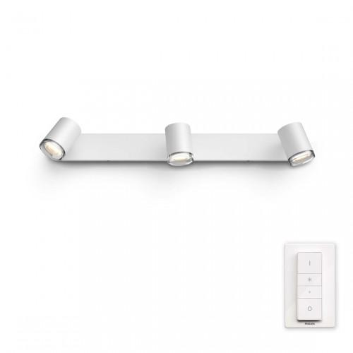 Philips Hue Adore 3-lichts Badkamerspotlamp
