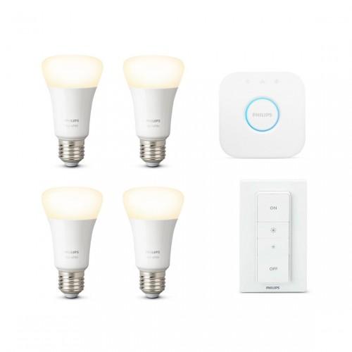 Philips Hue White E27 Bluetooth Starter Kit + Hue White E27 Bluetooth Ledlamp