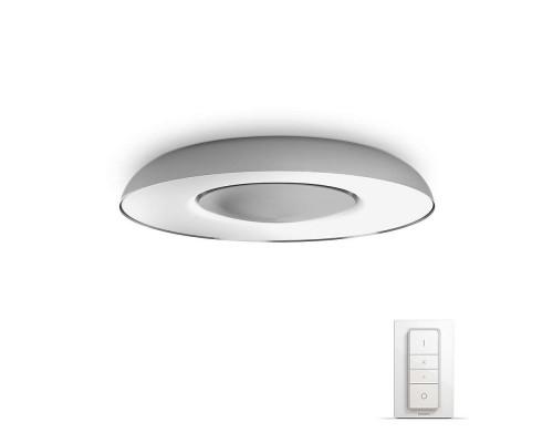Philips Hue Still White Ambiance Bluetooth Plafondlamp + Dimmer Switch