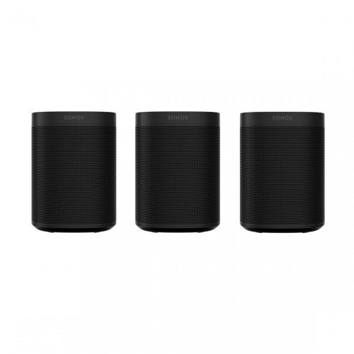 Sonos One SL set van 3 - Wifi-speaker