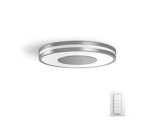 Philips Hue White Ambiance Being Bluetooth Led Plafondlamp + Dimmer
