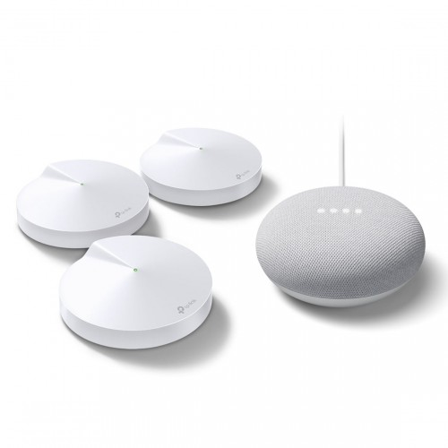 TP-Link Deco M9 Plus 3-pack V2 + Google Nest Mini
