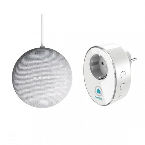 D-Link DSP-W115 Slimme Stekker + Google Nest Mini