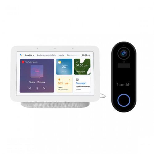 Hombli Smart Doorbell 2 + Google Nest Hub