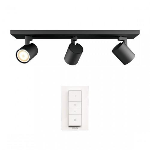 Philips Hue Runner 3-lichts Spotbalk incl Dimmer Switch
