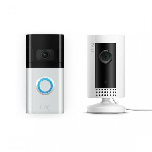 Ring Video Doorbell 3 + Ring Indoor Cam