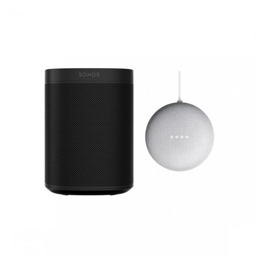 Sonos One + Google Nest Mini
