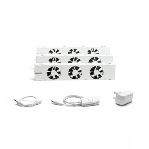 SpeedComfort Slimme Radiatorventilator Set 3-pack