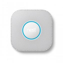 Google Nest Protect Bedraad Rook- en koolmonoxidemelder V2
