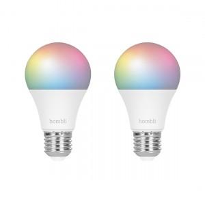 Hombli Smart Bulb E27 Colour 2-pack