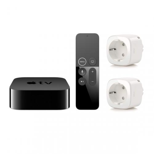 Apple TV + Eve Energy 2-pack