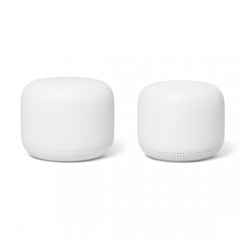 Google Nest Wifi 2-pack - 1 Router en 1 Access Point