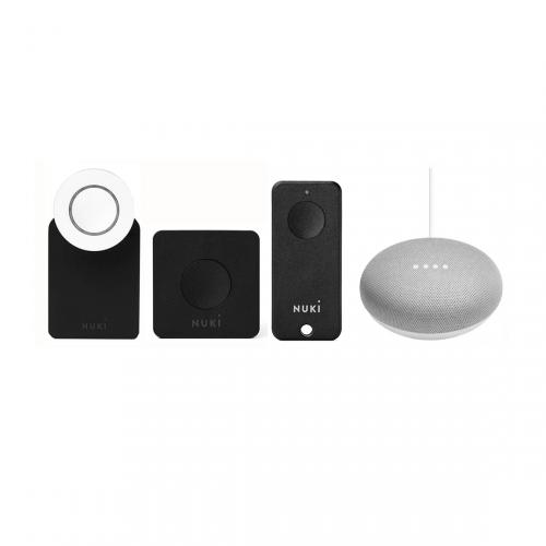 Nuki Smart Lock 2.0 met Bridge + gratis Fob en Google Home Mini