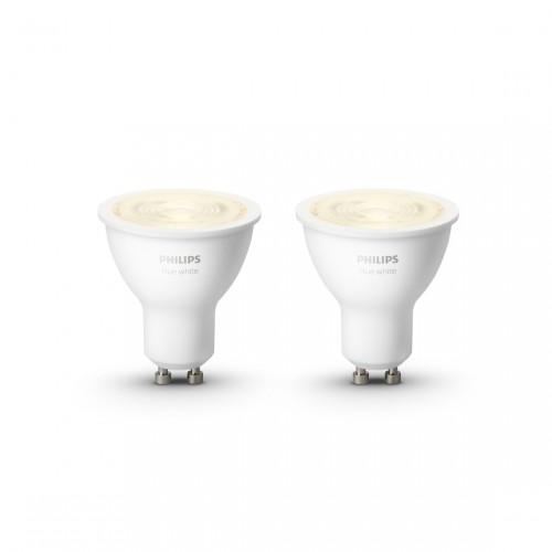 Philips Hue White GU10 Bluetooth Led Spot 2-pack