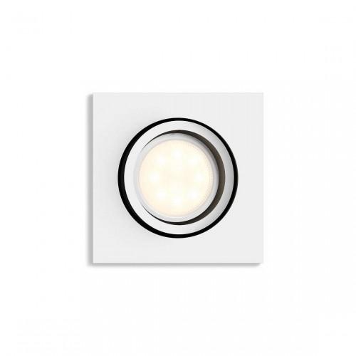 Philips Hue White Ambiance Milliskin - Vierkante Inbouwspot