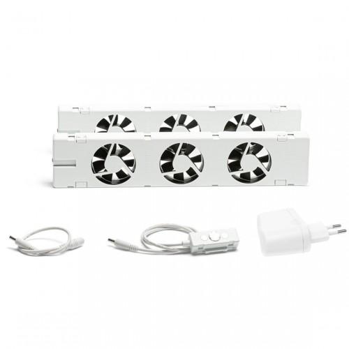 SpeedComfort Slimme Radiatorventilator Set 2-pack
