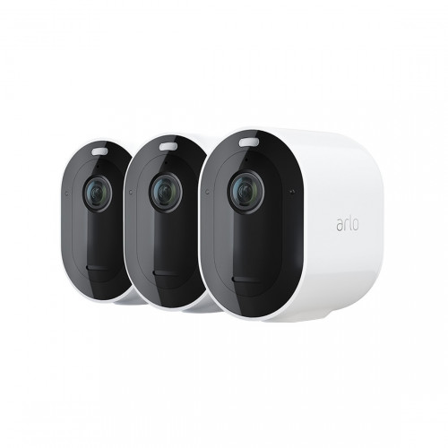 Arlo Pro 4 Spotlight Camera 3-pack
