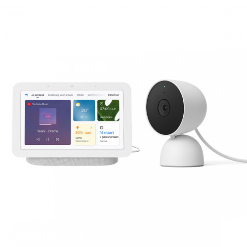 Google Nest Cam Indoor + Google Nest Hub (Gen. 2)