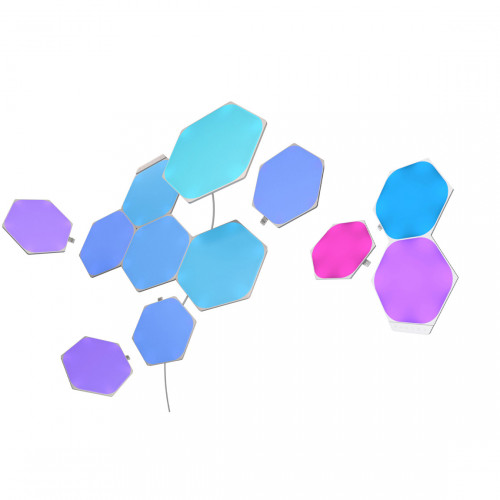 Nanoleaf Shapes Hexagons Starter Kit 9-pack + Expansion 3-pack