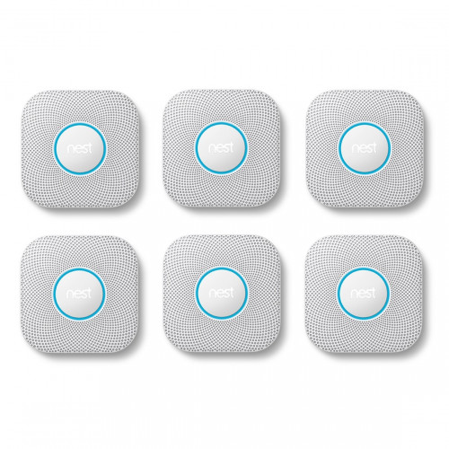 Google Nest Protect Bedraad 6-pack