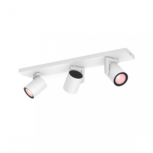 Philips Hue White & Color Ambiance Argenta Bluetooth 3-lichts Spotbalk