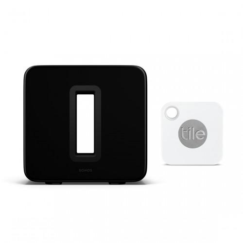 Sonos Sub Gen. 3 + Tile Mate (2020)