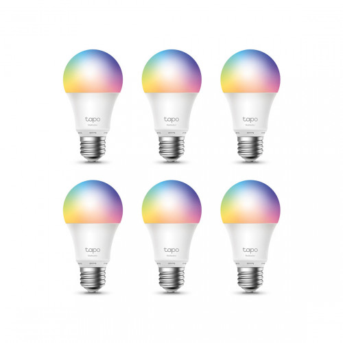TP-Link Tapo L530E Slimme Wifi Colour Lamp 6-Pack