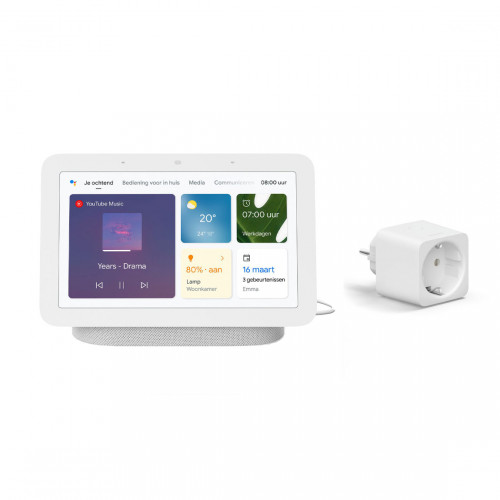 Google Nest Hub (Gen. 2) + Philips Hue Smart Plug