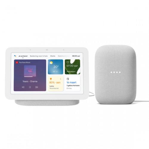 Google Nest Audio + Google Nest Hub (Gen. 2)