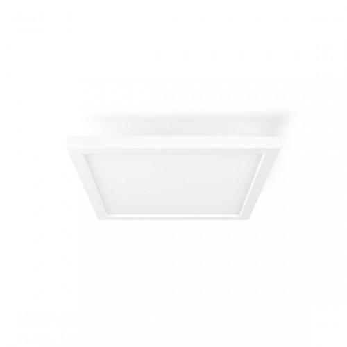 Philips Hue White Ambiance Aurelle - Vierkante Plafonnière 2200lm + Dimmer