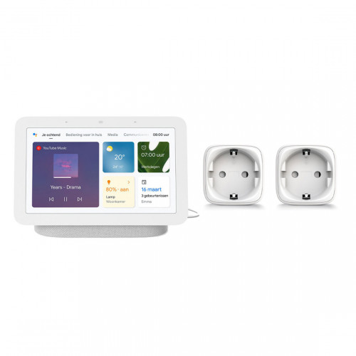 Google Nest Hub (Gen. 2) + Innr Smart Plug SP 220 2-pack