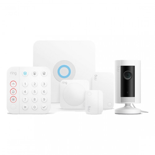 Ring Alarm Beveiligingssysteem Starter Kit 2.0 + Ring Indoor Cam