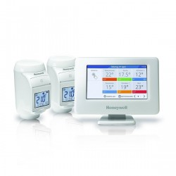 Honeywell Home evohome Console + HR92 Radiatorthermostaat 2-pack
